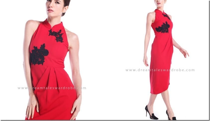 red-halter-style-lace-cheongsam-dress