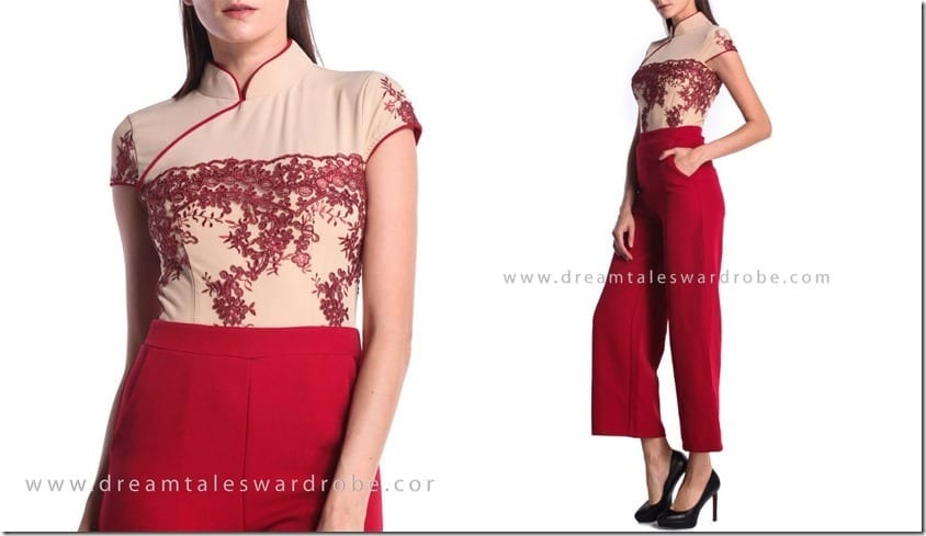 red-mesh-lace-cheongsam-culotte-jumpsuit