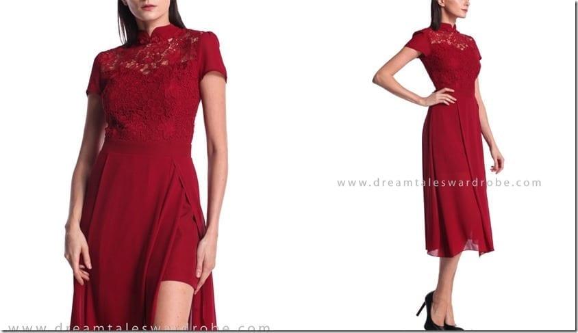 red-overlap-cheongsam-dress