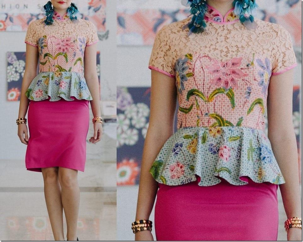 Fashionista NOW: Make Batik Cheongsam Dresses Your CNY 2018 OOTD
