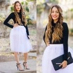 Fashionista NOW: How To Wear A Tulle Skirt With Sweater?