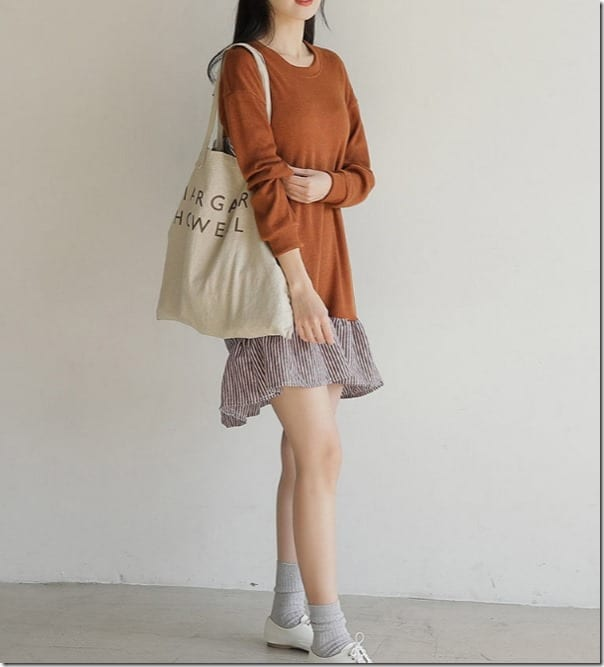 drop-hem-paneled-sweatshirt-dress