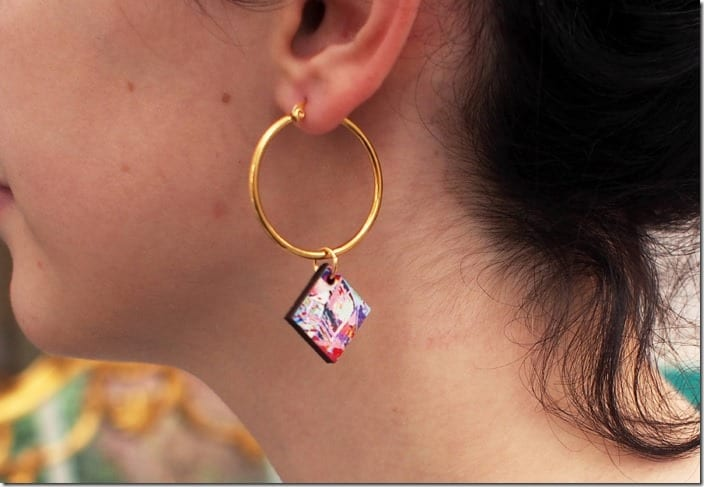 gold-hoop-colorful-square-earrings