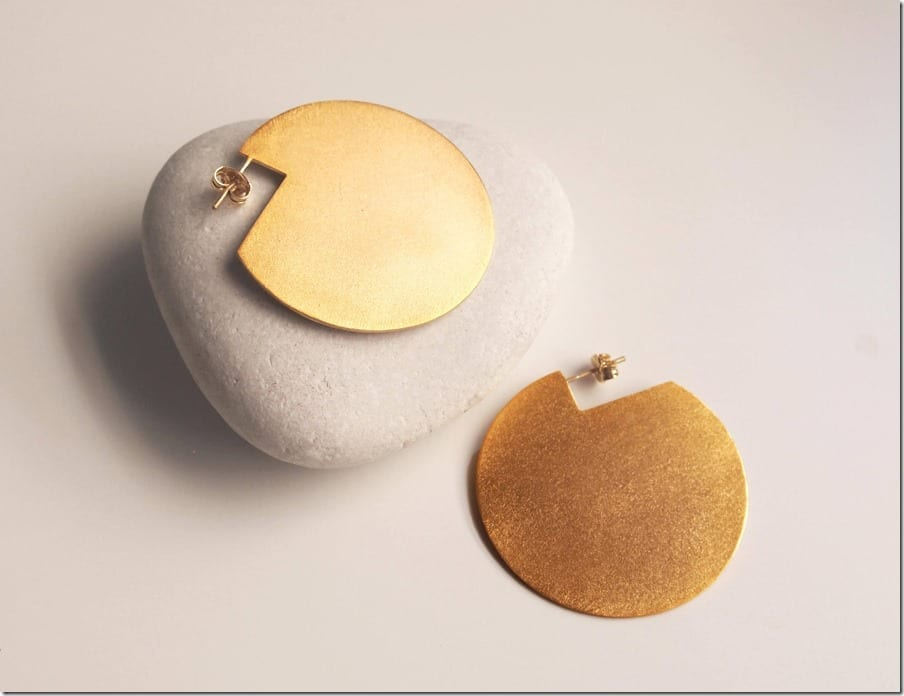 statement-brass-cutout-disc-earrings