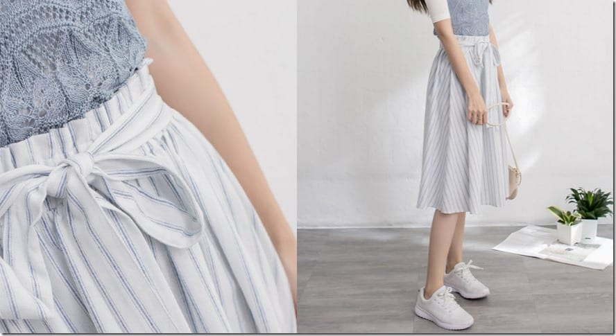 striped-paperbag-waist-midi-skirt