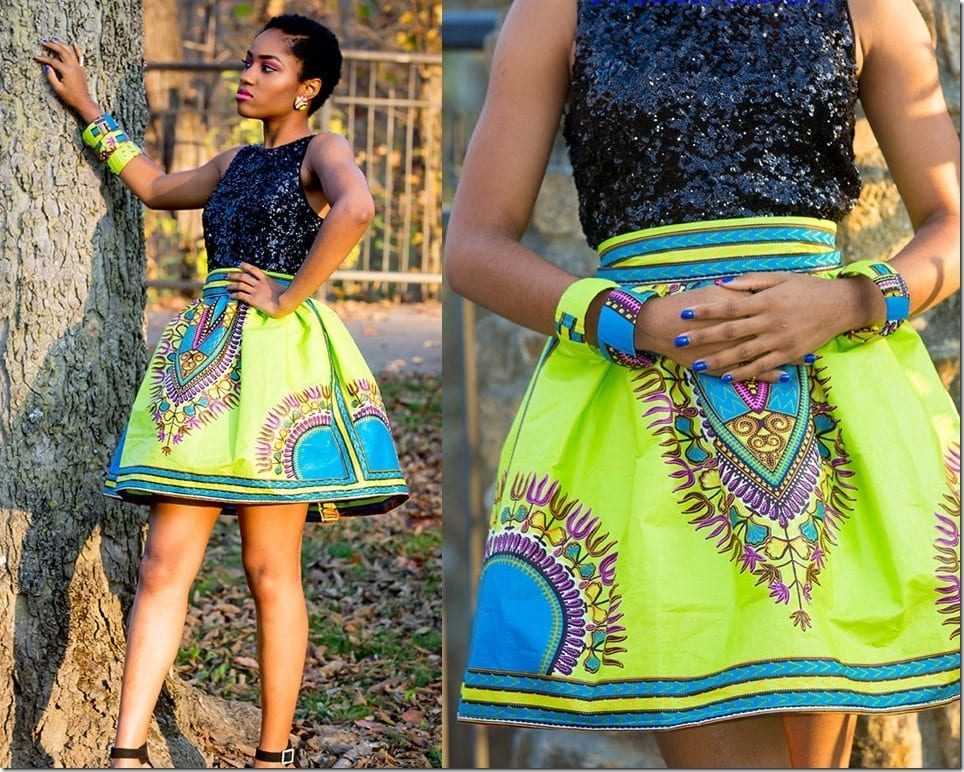 Stunning African Print Skirts To Wear And Steal The Show