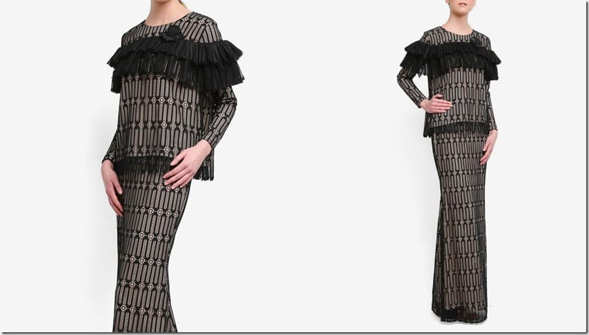 black-tiered-lace-kurung