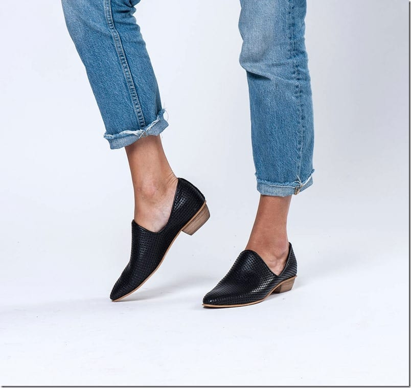 black-wood-heel-leather-shoes