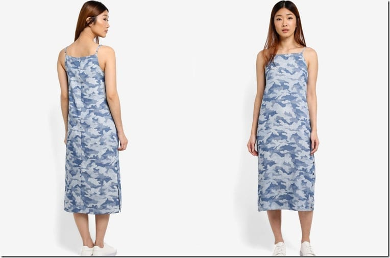 camo-print-midi-dress