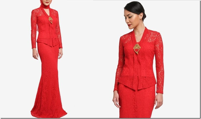 dazzling-red-lace-kebaya-set