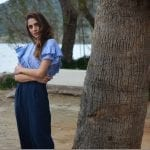 Fashionista NOW: Blue Striped Shirts With Feminine Details