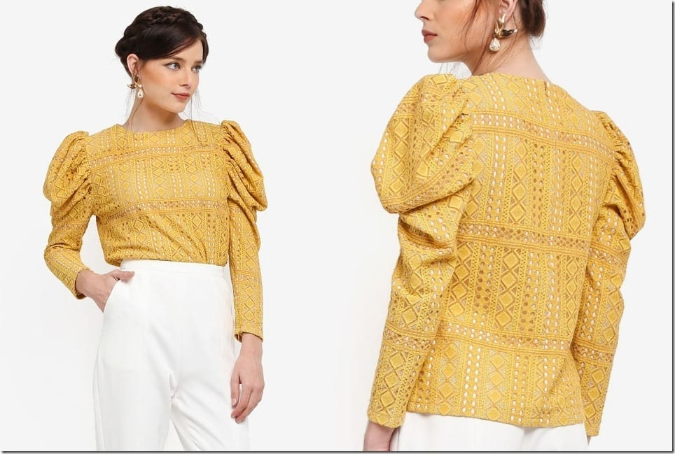 The Gigot Sleeve Blouse To Complete Your Retro Romantic OOTD