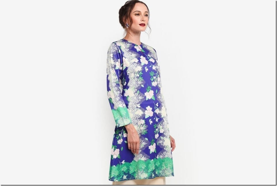 The Modern Kurung Pahang Style By Melinda Looi For Raya 2018