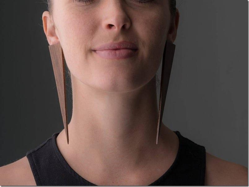 long-triangle-stud-earrings