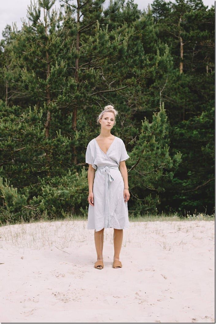 loose-wrap-linen-dress