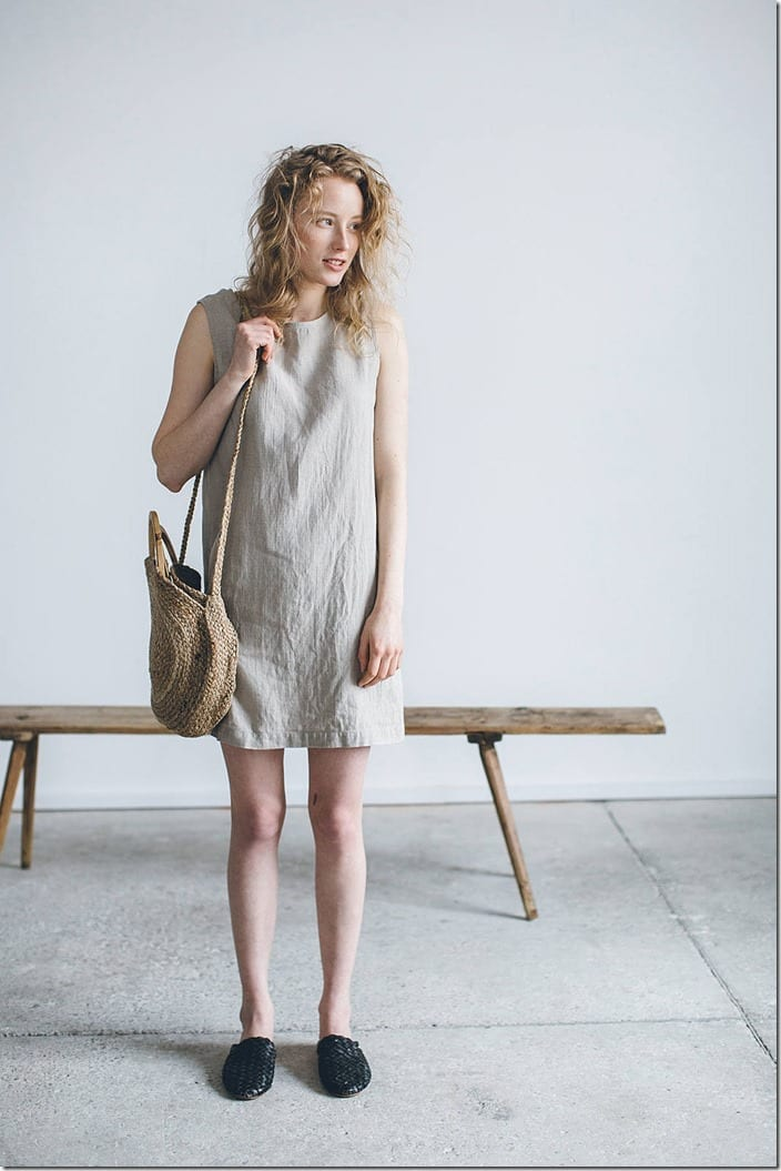 minimal-linen-tunic-dress