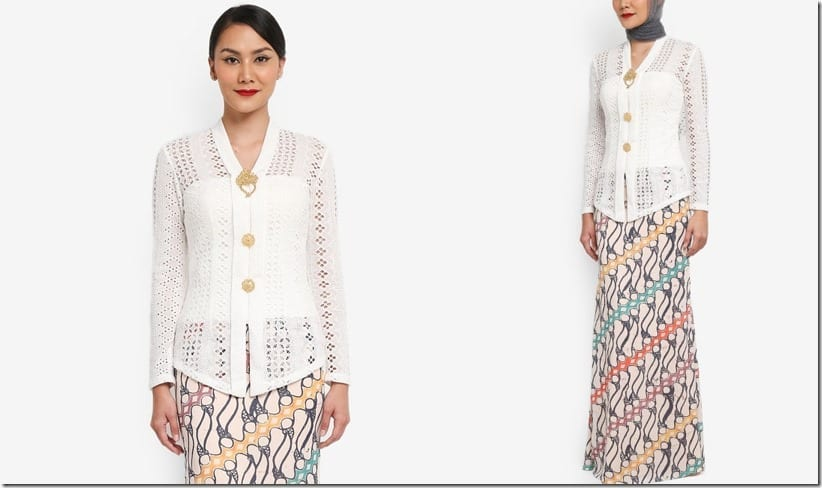 minimalist-white-batik-kebaya-set