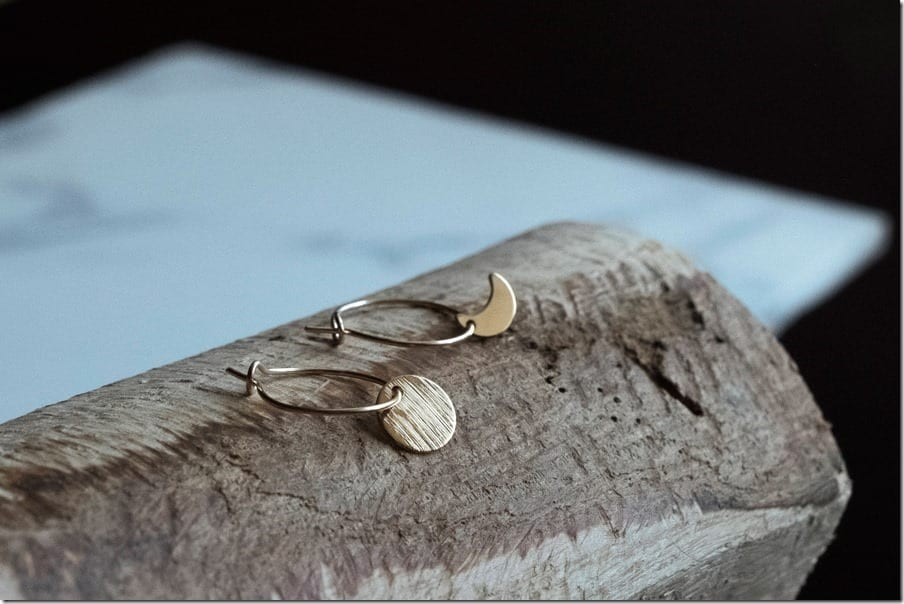 Moon Cycle Earrings Jewelry Inspiration