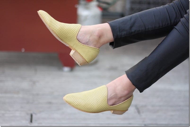 pastel-yellow-wood-heel-leather-shoes
