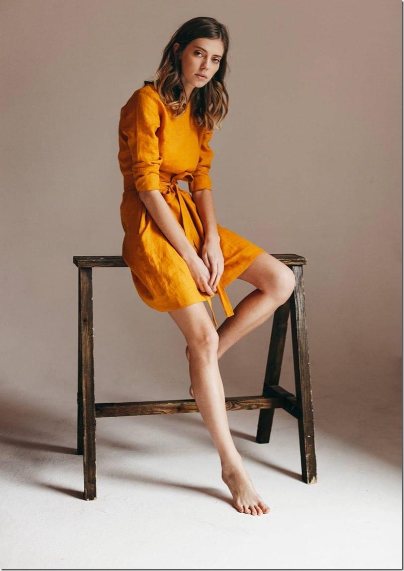 pure-linen-dress