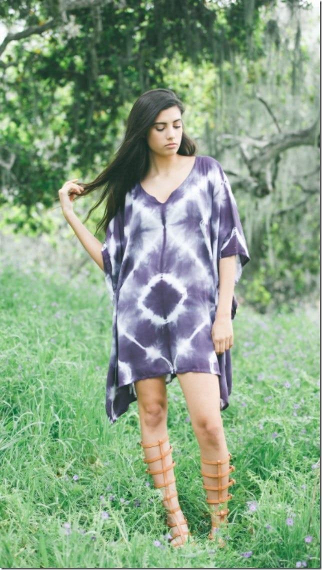 purple-shibori-kaftan-dress