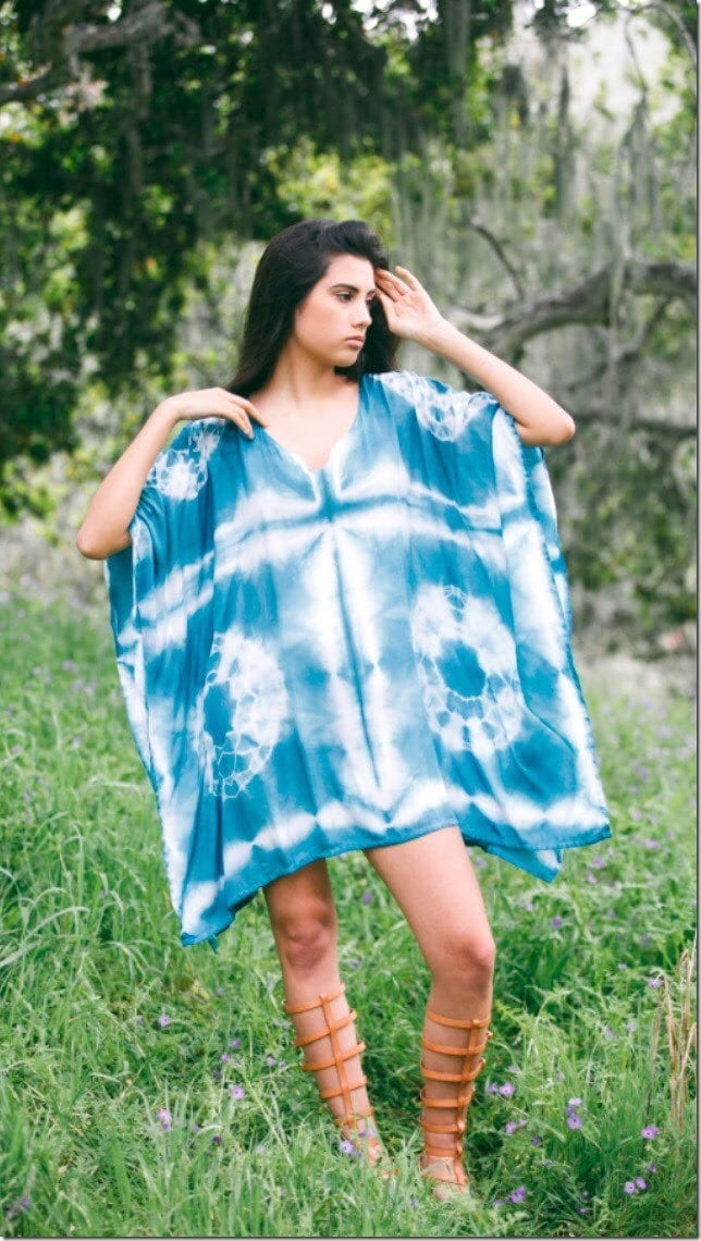 teal-shibori-kaftan-dress