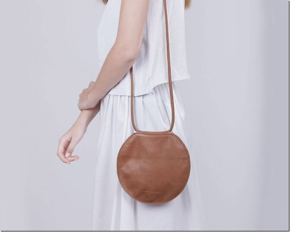 The Versatile Round Leather Bag To Go With Everyday OOTD