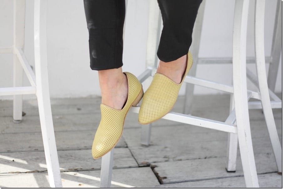Wood Heel Leather Shoes For Your Every Day Chic Look