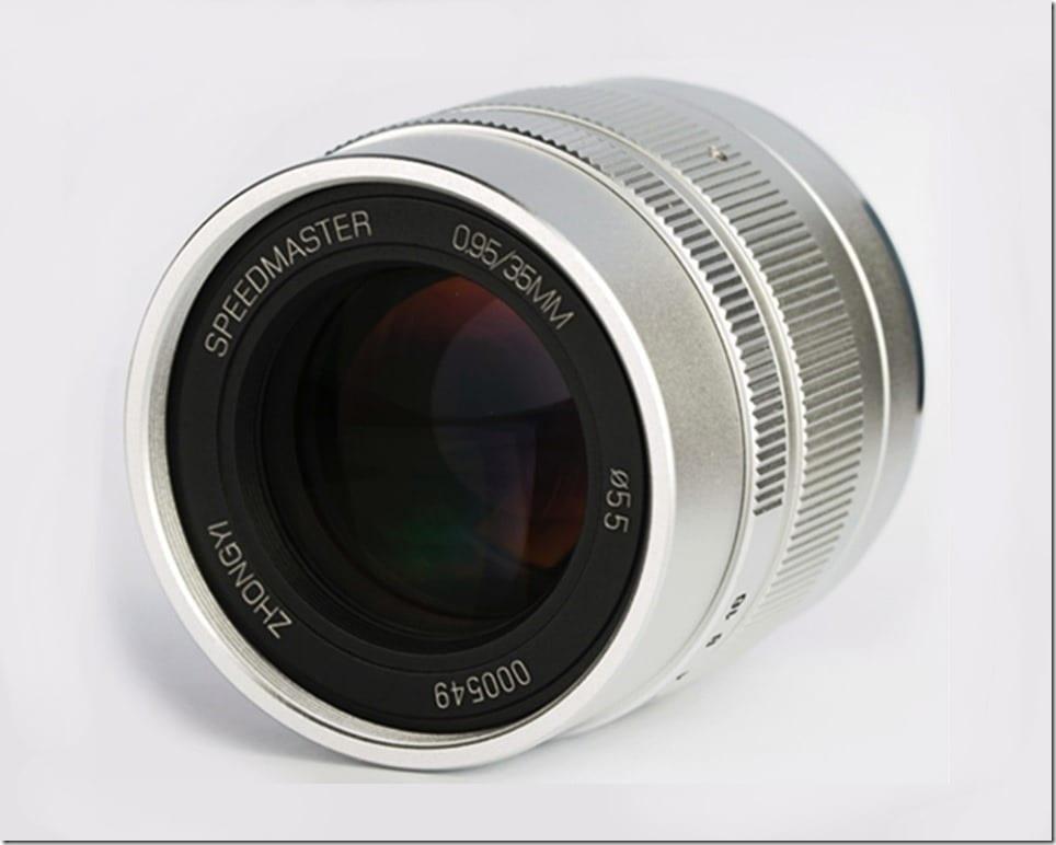 Zhongyi Speedmaster 35 f0.95 M43 Lens Malaysia