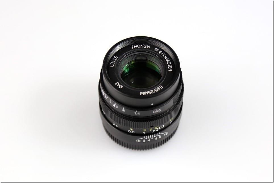 Zhongyi Speedmaster 25 f0.95 M43 Lens Malaysia