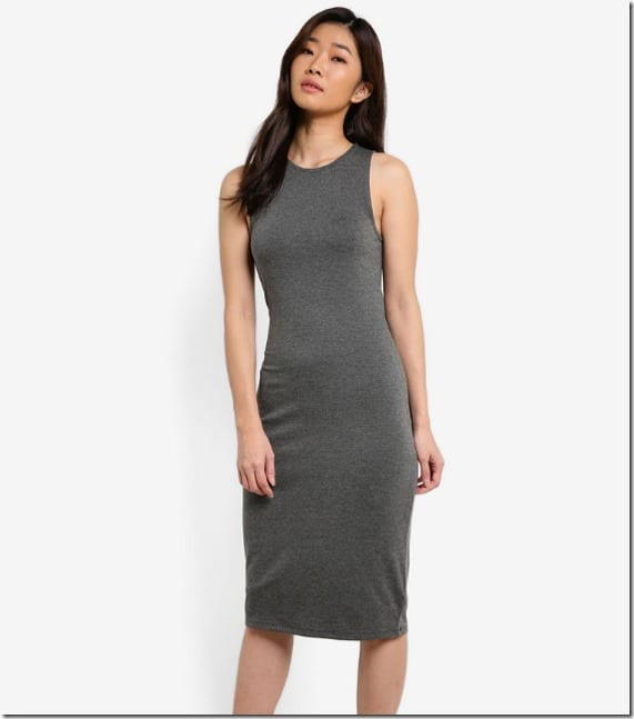 basic-grey-bodycon-dress
