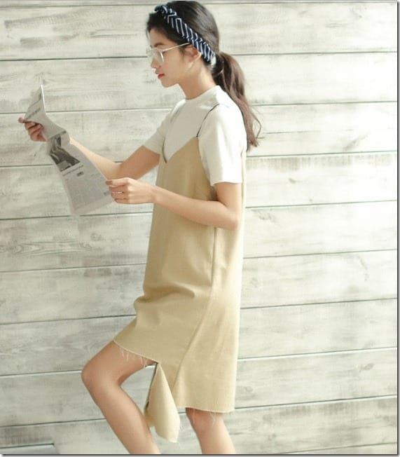 beige-torn-hem-slip-dress