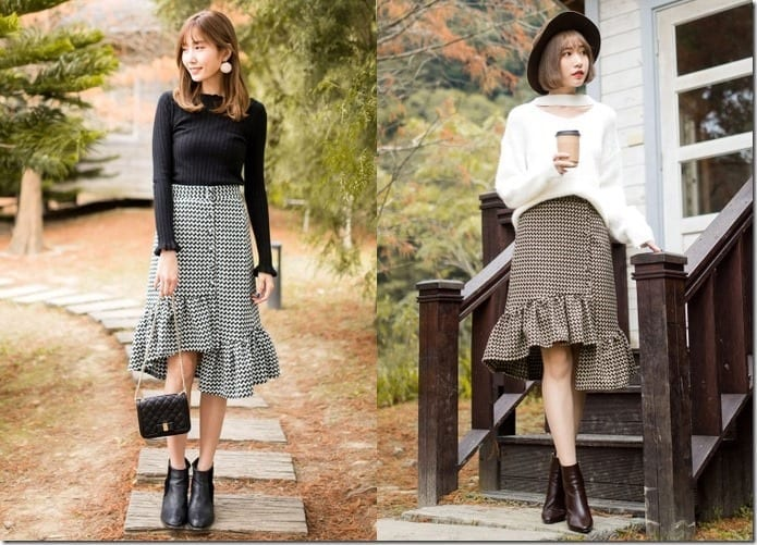 5 Ruffle Gingham Skirt Styles To Spruce Your OOTD Like No Other