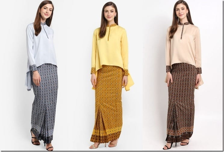 The High Low Classic Kurung Style For A Chic Raya 2018 Festive Look