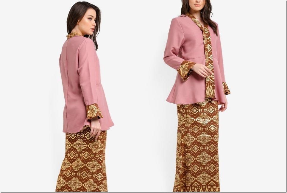 The Modern Kebarung Style For Raya 2018