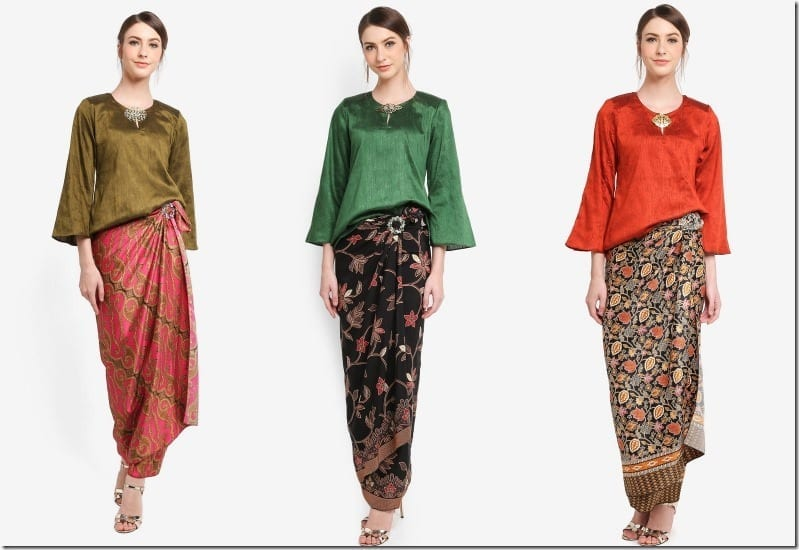 Baju Raya 2018 Idea ~ Modern Kedah Kurung With Pario Style Skirt