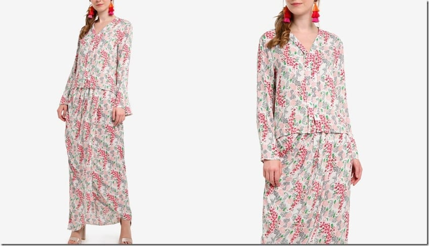 pink-floral-high-low-flare-kebaya