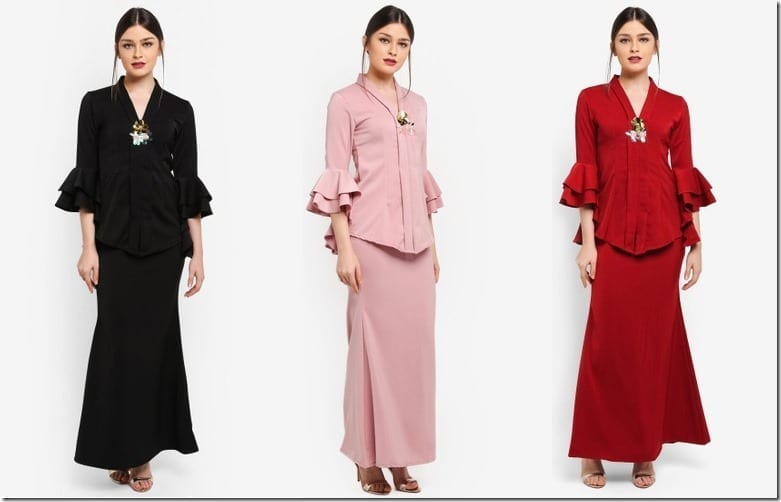 Simple Yet Stunning Kebaya Style For Your Raya 2018 OOTD