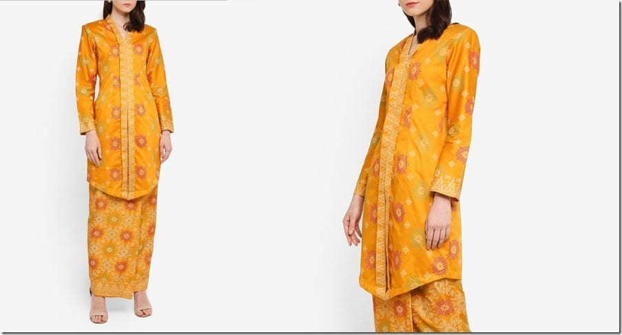 yellow-songket-inspired-kebaya