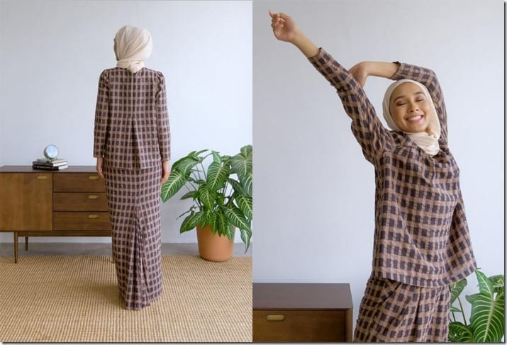 beige-charcoal-check-raya-set