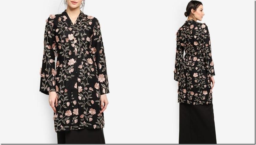 black-floral-embroidered-kimono-kebaya