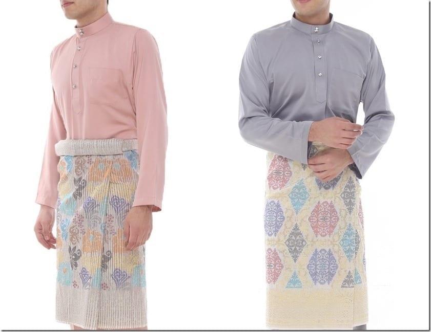 The Classic Baju Melayu Cekak Musang For Men's Raya 2018