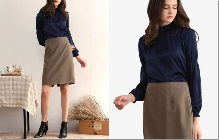 navy-balloon-sleeve-blouse