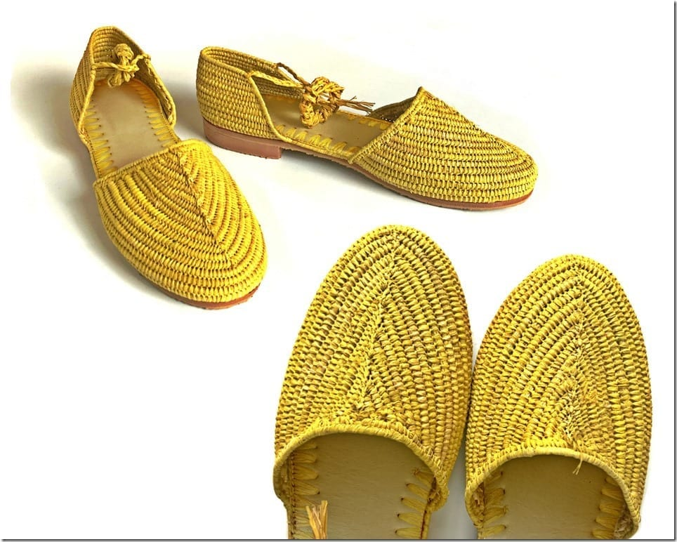 Raffia Sandals For Strong Summer Shoe Game