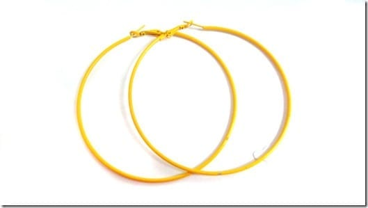 skinny-yellow-hoop-earrings