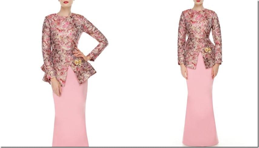 split-peplum-modern-kurung-pink