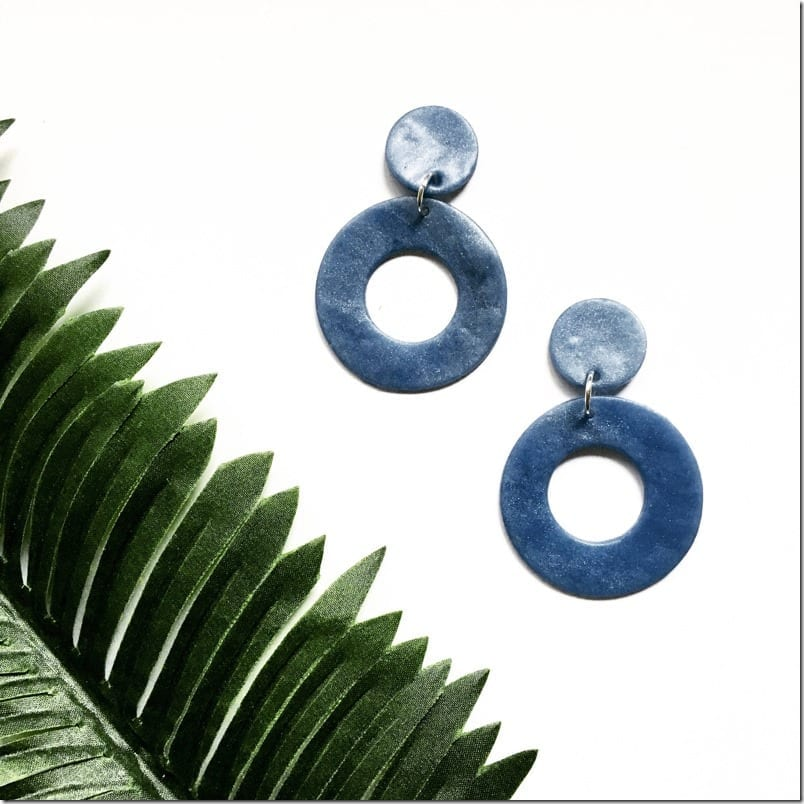statement-blue-circle-clay-earrings