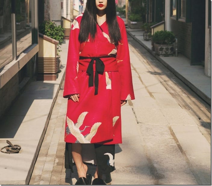 statement-red-crane-wide-sash-coat