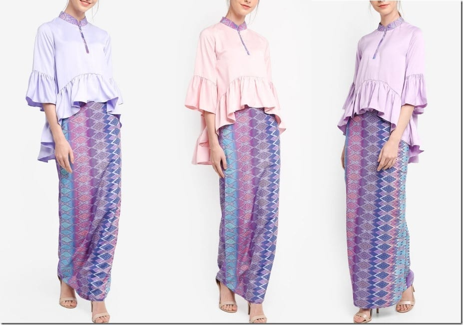 The Modern Songket Kurung For Unicorns To Wear This Eid 2018