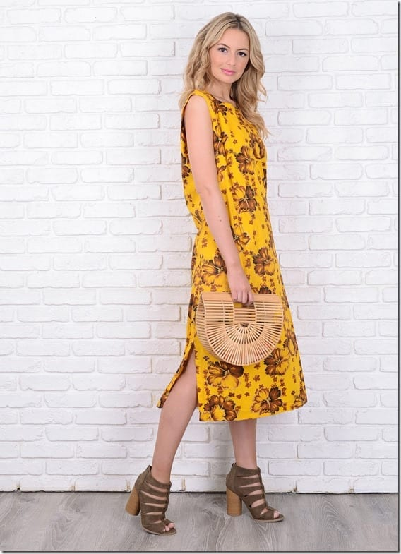 vintage-70s-floral-yellow-boho-dress